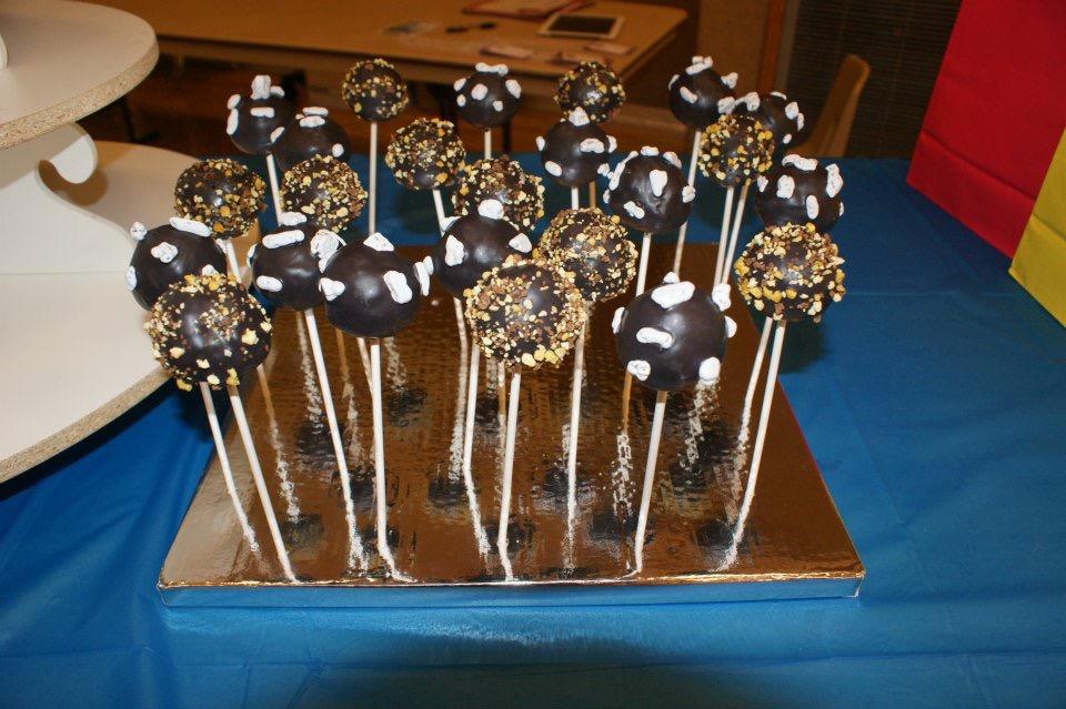 Meteor cakepops
